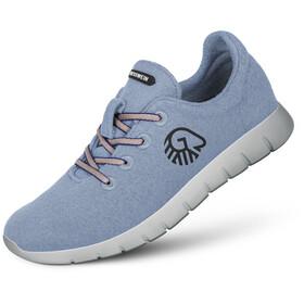 Giesswein Merino Wool Runners Men sky blue